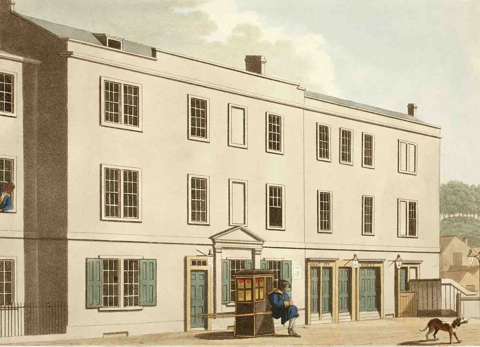 1774 – An Enlarged House - Old Theatre Royal