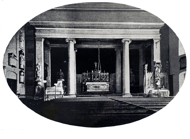 Catholic Chapel 1809 to 1863 - Old Theatre Royal