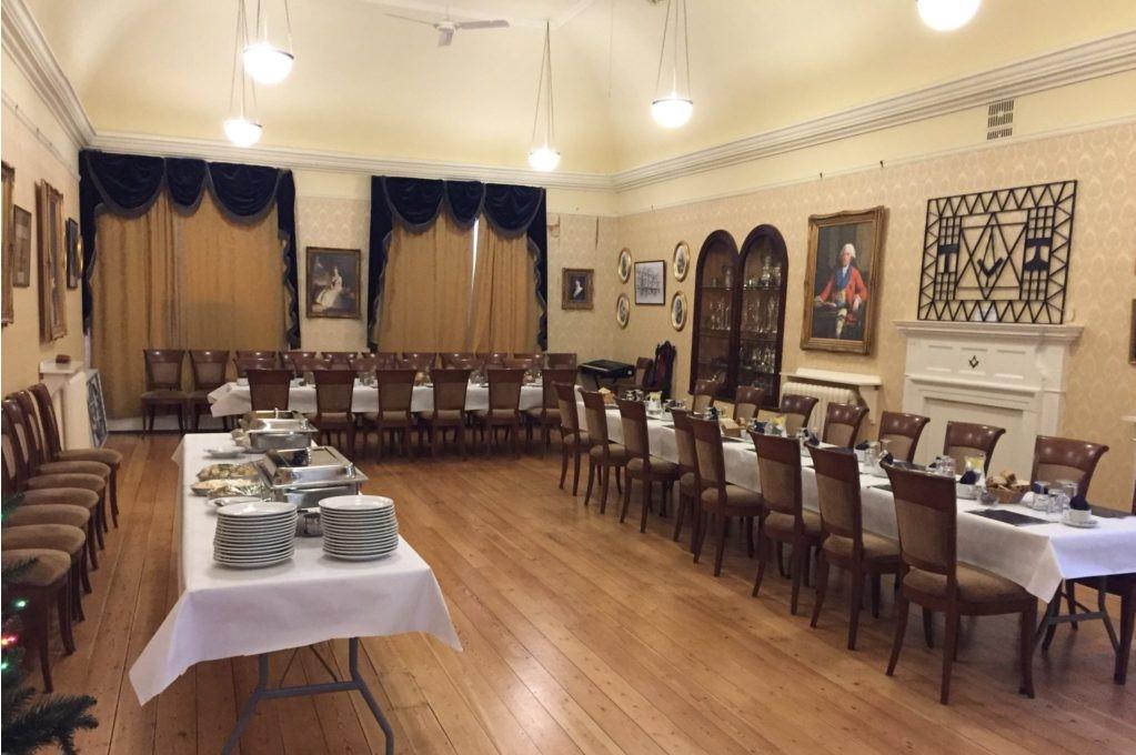 Formal dinner venue
