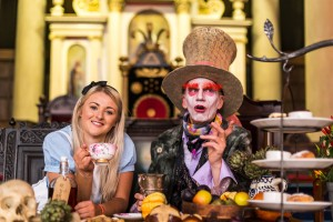 Alice in Wonderland at the Old Theatre Royal for Great Bath Feast 2015