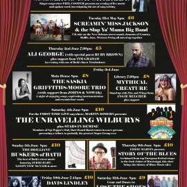 Bath Fringe Festival line-up for 2016 announced
